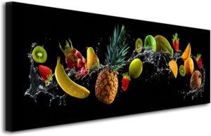 Tableau déco cuisine fruits