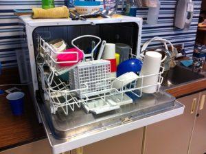 Lave vaisselle sur plan de travail