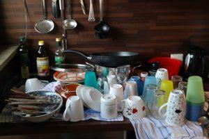 Vaisselle qui sèche